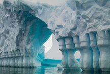 Snow and ice art
