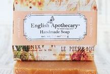 Pretty Soap Packaging / Packaging inspiration for homemade soaps and bath & body products.