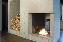Unique Fireplaces / A collection of amazing fireplaces.