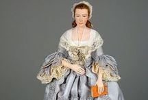 Historical and Experimental Fashion Dolls / by Jennie Eagle