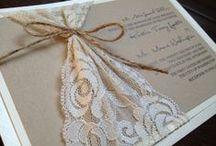 Γάμος: Μπομπονιέρες και Προσκλητήρια / by Sabrina Nastou