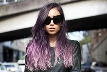 Color us inspired / Hair colors that make us want to taste the rainbow