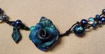 ROSES / Romantic rose necklaces. Each necklace is a unique piece of #clayart timeless #roses