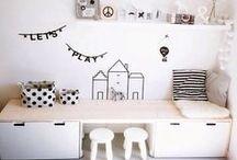 ▲ Kinderhoek inspiratie / Een gezellig en opgeruimd kinderhoekje in de woonkamer, hoe doe je dat?