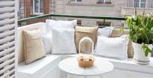 ▲ Balkon en dakterras inspiratie / Aan het inrichten van balkons en dakterrassen wordt vaak niet gedacht. Toch kan je er iets HEEL moois van maken.