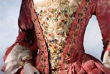 """18th Century / Note: all undergarments and structural/support garments can be found on """"Skivvies."""" / by Peryn Westerhof Nyman"""