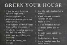 Green Living / by Angelica Garcia