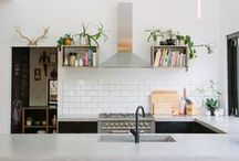 Kitchen and dining room / by Mo McC