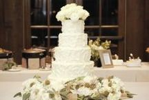 Our Wedding Cakes / Wedding Cakes made in house at Blue Eyed Daisy Bakeshop in Serenbe