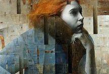 ART : Peintures divers / http://www.cedric-bescond.fr/ #art #peinture #paint