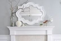Fireplaces / Different mantel fireplaces with decoration ideas