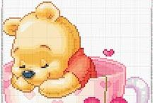 Borduren / Winnie Pooh