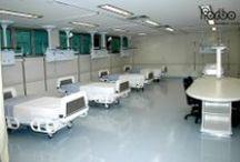 Saúde / Hospitais, Clínicas e obras relacionadas à Saúde com pisos Forbo.