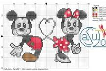 Crossstitch - Hearts