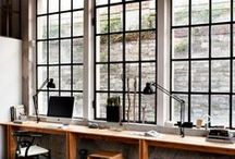 Home office / Inspiration to your home office; design and supplies.