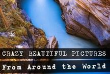 The most beautiful places in the world / Find out about the most beautiful places in the world. Ideal for ideas and inspiration for your next holiday or to pin on your bucket list board!  If you're into travel, tourism and exploring our planet, then be sure to follow this board and regularly check out http://www.thecrazytourist.com/.  And if you'd like to suggest some gorgeous places in the world to be pinned on this board, just contact me. / by The Crazy Tourist