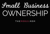 Small Business Ownership / Mind Your Business | Insights + inspiration + empowerment for mompreneurs. Grab our free 22-page resources guide: resources.themogulmom.com