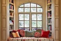 Reading Nooks / The best places to curl up with a good book.