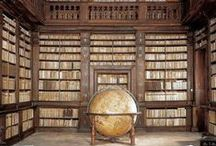 Libraries / One can always find something to read in a great library!