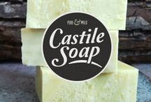 Soap Making / Psst...Little known fact, I love making soap!