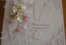 Cards Wedding and anniversary / White wedding & anniversary cards