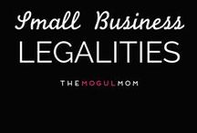 Small Business Legalities / Our best legal information and resources for solopreneurs, mompreneurs, freelancers, microbusiness owners, and bloggers.