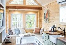 Tiny Houses / Minimized living with style.