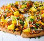 Tofu Pizza Lovers / The possibilities for Tofu are endless, pizza lovers rejoice! Yet another topping to add to your pizza that can favoured multiple ways.