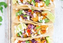 Tofu Tacos / Putting a new spin on an old classic by replacing meat for tofu in your favourite taco. Every day can be taco Tuesday with never ending fillings and recipes to choose from.