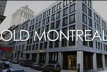 Places (Old Montreal) / Old Montreal is a lively neighbourhood located along the St. Lawrence River.