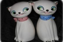 Cat Collectibles  & Cozy Kitchen Kittens / From Cozy Kitchen Kittens (Novelty Ceramic Collectible line produced by HOLT HOWARD  starting in 1958 through the early 1960's) to modern collectibles...all things cat collectibles. / by JP Rathke
