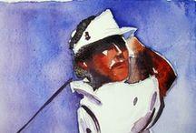 Seve tribute / a great golfer