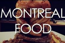 Montreal Food / A collection of all our favorite dishes from in and around Montreal restaurants, including Montreal staples like poutine and bagels!