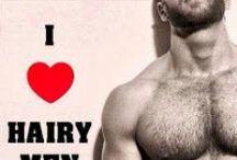 hairy men / men men men