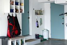 GARAGE / Shelving and storage ideas for the garage
