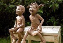 Скульптура - поделки