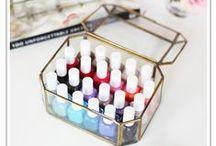 Nail Polish Organizing / Keeping Nail polish and supplies organized easily