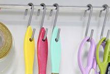 S Hook Organizing / Organizing around the house using S hooks