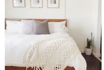 BEDROOM / Organizing + Styling a bedroom. Tips tricks and ideas for a beautiful boudoir.