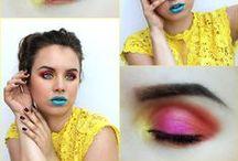 My make-up experiments / moje líčenia :)