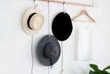 HATS / Cool ways to hang hats