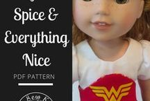 DOLL PATTERNS, TUTORIALS / Doll making, doll patterns, tutorials, diy