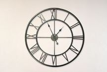 Wall Clocks / Add a stylish clock to your wall.