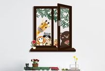 Children Wall Stickers / Children Wall Stickers are an awesome way to create a new world of fantasy for our children's.
