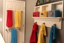 SUPERHERO KID ROOMS / Kid room, nursery room, childrens world, DIY, crafts for kids, interiours