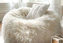 Pillows & Poufs...