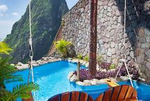 Resorts around the world...
