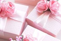 Gift Boxes, Wrapping and Bows.
