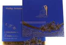 Marriage Invitation Cards / Best collections of Hindu wedding cards, Designer wedding cards, Marriage cards, shaadi cards, Hindu wedding invitations & Handmade paper cards to choose from india.