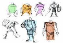 Sketches, Props & Concept